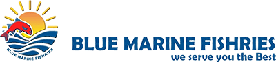 Blue Marine Fishries Logo
